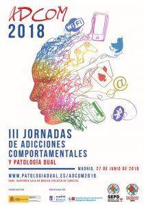 III Jornadas de Adiccciones Comportamentales y Patologia Dual 2018