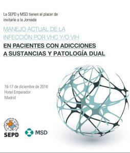 Jornada Manejo actual de la infección por vhc y/o vih en pacientes con adicciones a sustancias y patología dual
